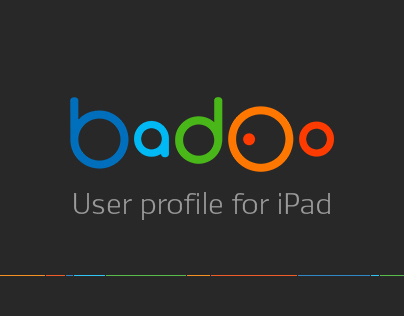 Badoo user profile for iPad