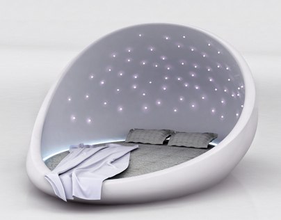 THE COSMOS BED (The Space Bed)