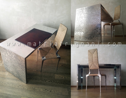 Casted Aluminium Table