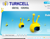 Turkcell demo web design