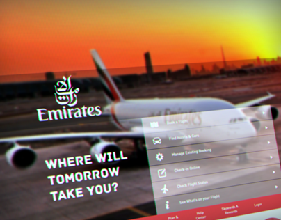 Emirates Website Redesign