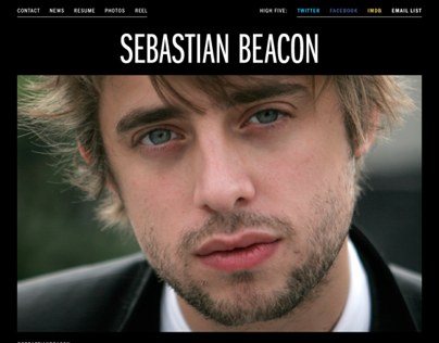 Sebastian Beacon Website