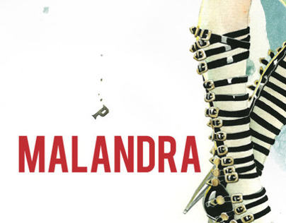 Malandra book cover