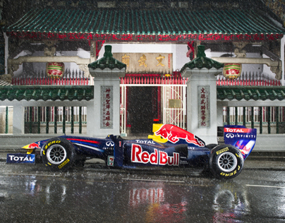 Red Bull F1 in Hong Kong Campaign Photography