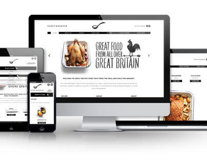 Scoff & Banter Restaurants in London (Responsive Site)