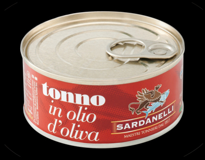 Label / Pack Tonno Sardanelli