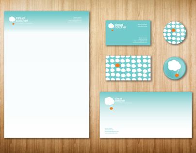 Cloud catcher visual identity