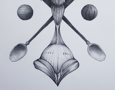 Anatomy of gods - pencil drawings