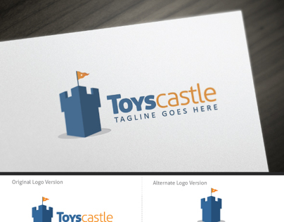 Toys Castle Logo Template