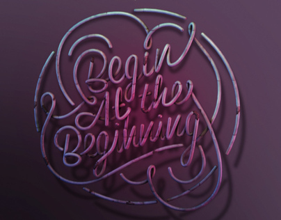 Begin at the beginning