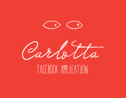 Carlotta Facebook Application Design