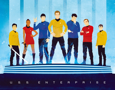 Star Trek 'Final Frontier' artshow by Geek-Art