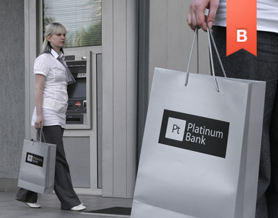 Platinum Bank / Corporate identity