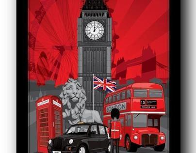 photoshop london poster