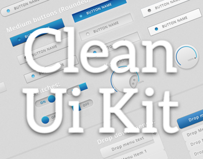 Clean Ui kit