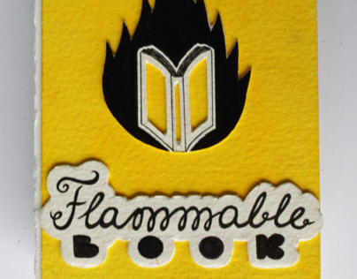 Flammable book (ART BOOK)