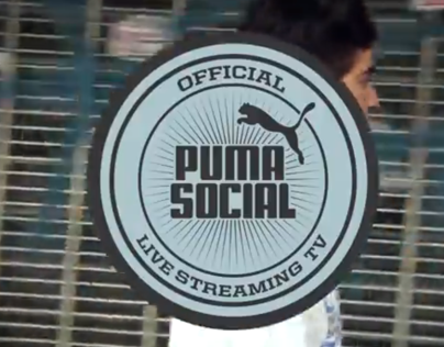 Puma Social Tv Interview & Live painting (Argentina)