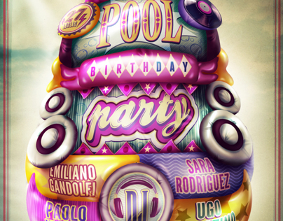 Pool Birthday Party