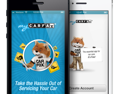 myCARFAX Mobile Application