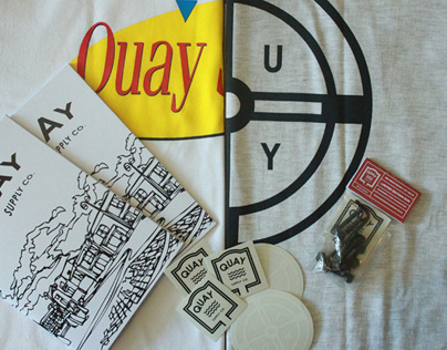 Quay Supply Company branding