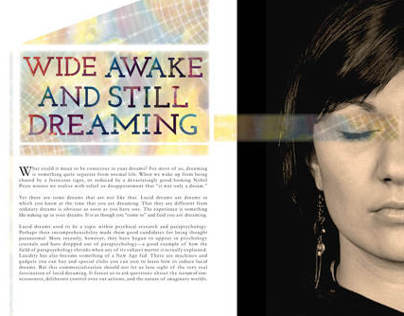 Lucid Dreaming Editorial