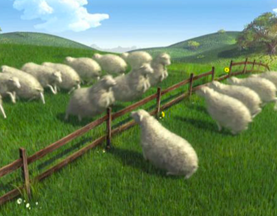 Sheep - TV Advertising
