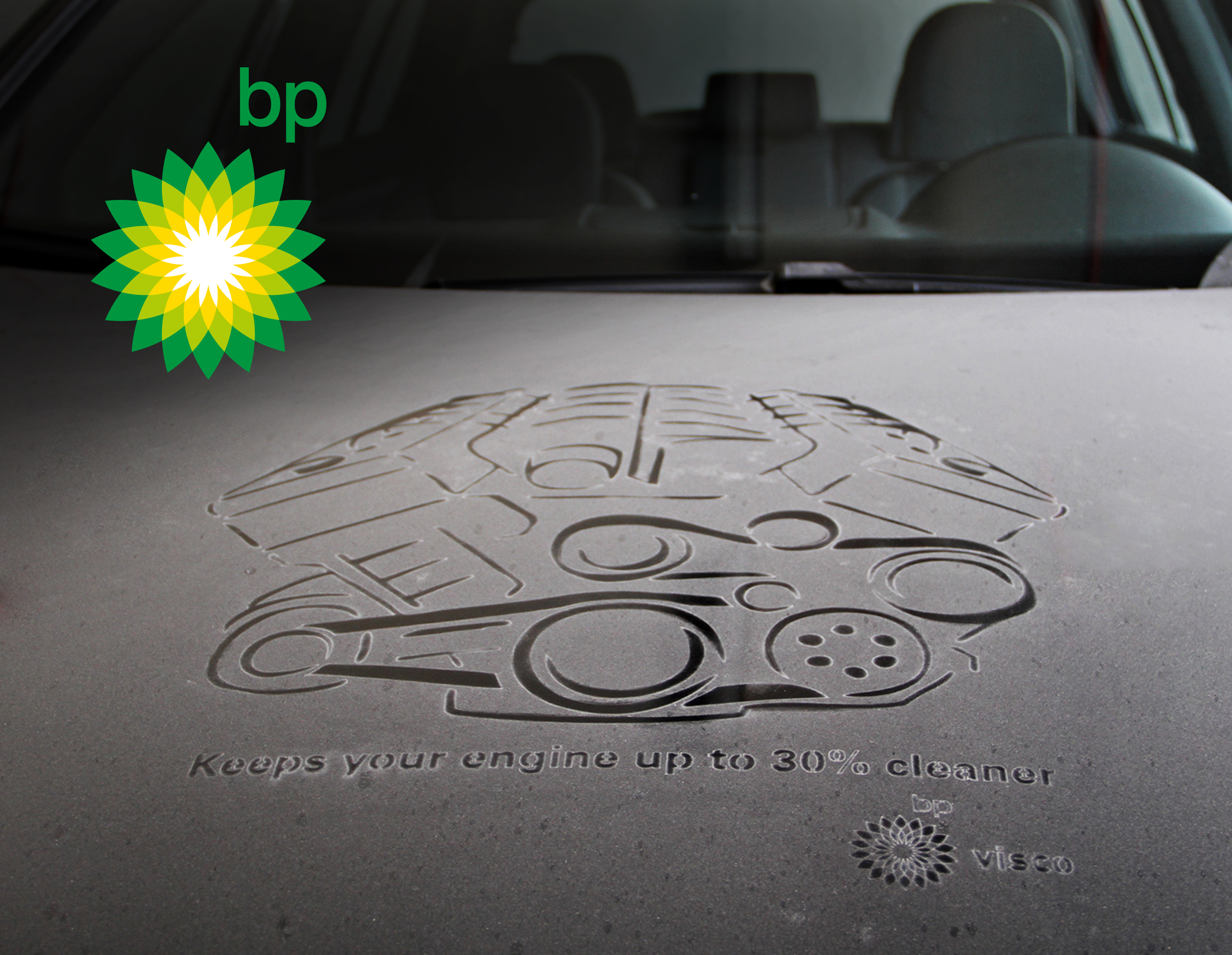 BP Visco - Dustvertising