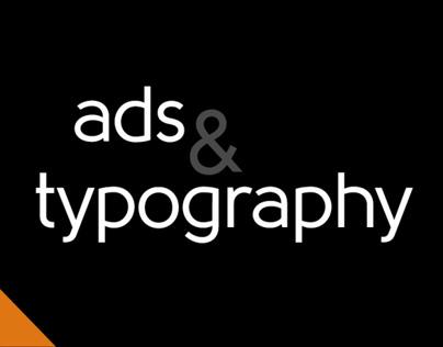 Ads & Typography
