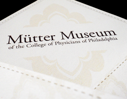 Mütter Museum Promotional Pieces
