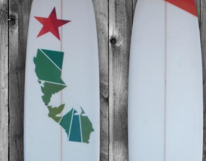 SLO Cal Surfboard