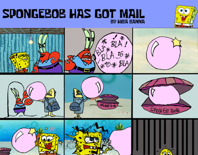 SpongeBob has got mail!