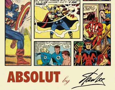 ABSOLUT STAN LEE