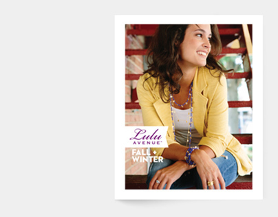 Lulu Avenue Jewelry Catalog + Collateral