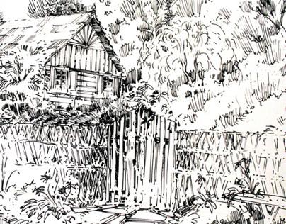 Polish village - Nowogrod
