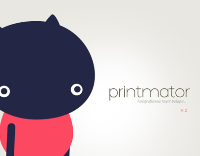 Printmator Web Application Design / V2