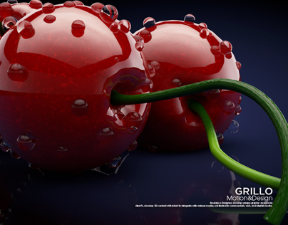 Stylized Cherries