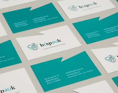 Corporate and editorial design for a translation agency