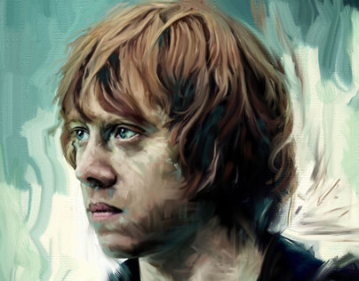 HARRY POTTER: Ron Weasley Portrait