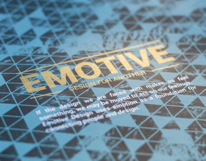 Emotive: Design for Another | Senior Show Poster