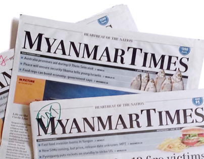 Redesign of The Myanmar Times