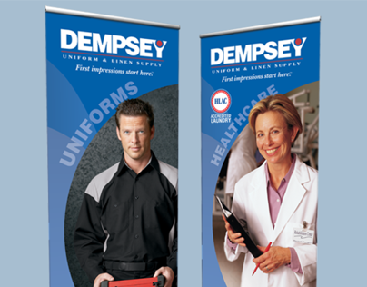 Dempsey Uniform Roll-Up Banners