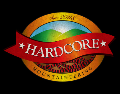 Hardcore Mountaineering Banner