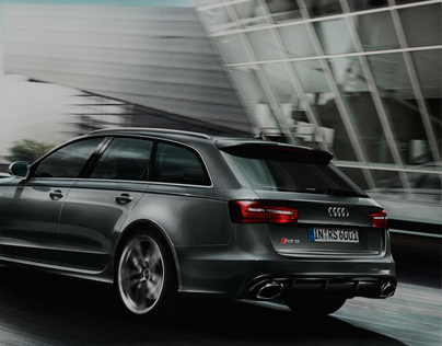 Audi Website Redesign