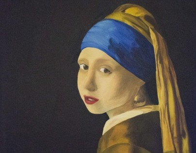 Girl With the Pearl Earring Recreation