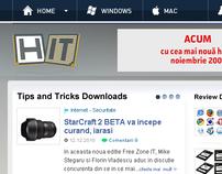 Hit.ro web design