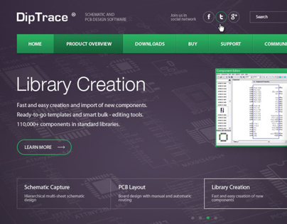 DipTrace - Schematic and PCB Design Software