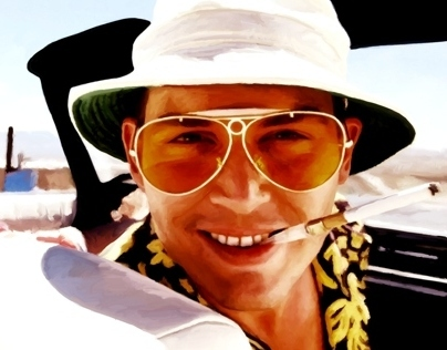 Johnny Depp @ Fear and Loathing in Las Vegas