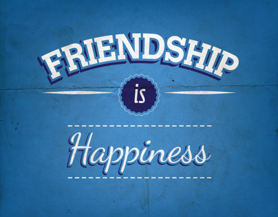 Friendship is Happiness