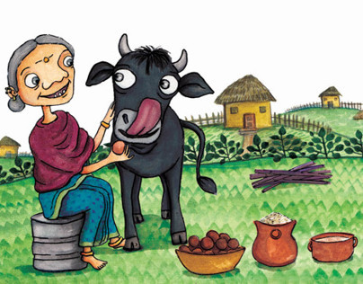 The Big Black Bull: Amar Chitra Katha