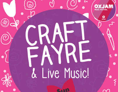 Oxjam Craft Fayre Posters & Flyers